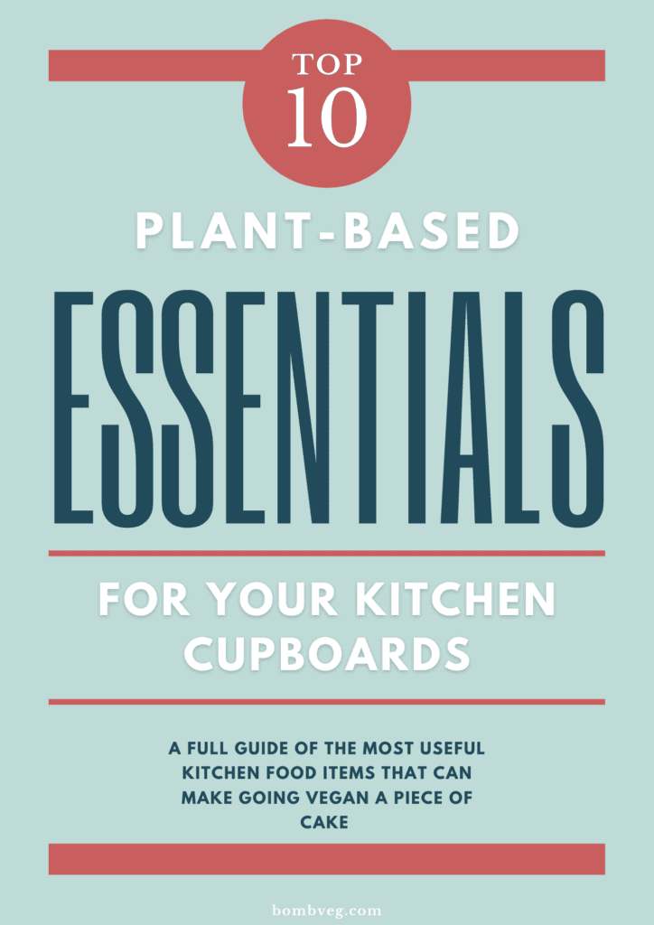 Plant Based Kitchen Cupboard Essentials PDF Front Cover