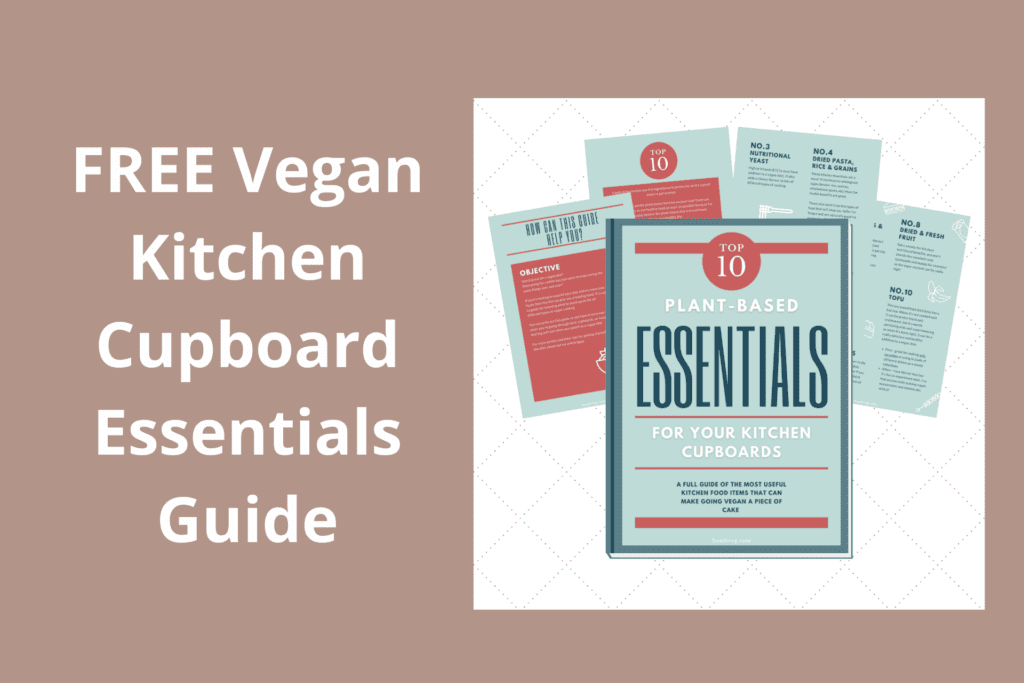 free kitchen cupboards essentials guide download for help with how to switch to a vegan diet