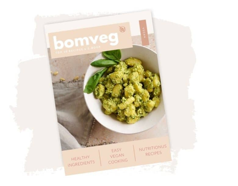 the front cover of the bombveg free e-book